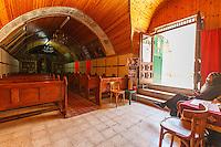Israel, Jerusalem, st.Elen coptic church, ethiopian coptic priest