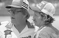 Dale Earnhardt Bud Moore Winston 500 at Alabama International Motor Speedway in Talladega , AL on May 5, 1985. (Photo by Brian Cleary/www.bcpix.com)