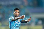 Jiangsu FC Forward Alex Teixeira gestures during the AFC Champions League 2017 Round of 16 match between Jiangsu FC (CHN) vs Shanghai SIPG FC (CHN) at the Nanjing Olympic Stadium on 31 May 2017 in Nanjing, China. Photo by Marcio Rodrigo Machado / Power Sport Images