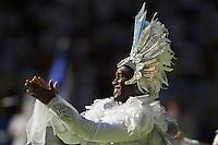 A closing ceremony dancer