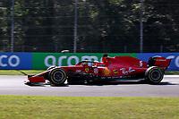 4th September 2020; Autodromo Nazionale Monza, Monza, Italy ; Formula 1 Grand Prix of Italy, free practise sessions;  5 Sebastian Vettel GER, Scuderia Ferrari Mission Winnow