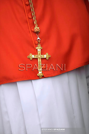 Cardinal;Pope Benedict XVI leads the Consistory where he will appoint 22 new cardinals on February 18, 2012 at St Peter's basilica at the Vatican.