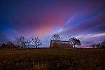 Barn along the Natchez Trace Parkway, Tennessee