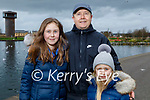 Enjoying a stroll in the Tralee Bay Wetlands on Monday, l to r: Andrea, Damien and Ashley Greer