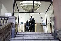 L'entrata della Galleria Sabauda a Torino.<br /> The entrance of the Galleria Sabauda (Sabauda Gallery) art collection in Turin.<br /> UPDATE IMAGES PRESS/Riccardo De Luca