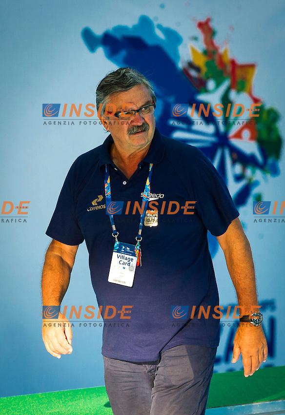 BRA-USA<br /> Brazil Vs USA<br /> Head Coach RUDIC Ratko BRA<br /> Day 10 02/08/2015<br /> XVI FINA World Championships Aquatics<br /> Waterpolo<br /> Kazan Tatarstan RUS July 24 - Aug. 9 2015 <br /> Photo Pasquale Mesiano/Deepbluemedia/Insidefoto