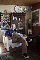 Pictured: Yiannis Boutaris, city mayor of Thessaloniki in Northern Greece in his mayoral office. Wednesday 22 August 2012