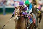 Louisville, KY- May 05:  I'll Have Another with Mario Gutierrez wins the Kentucky Derby at Churchill Downs in Louisville, KY on 05/04/12. (Alex Evers/ Eclipse Sportswire)