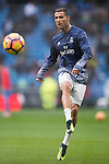 Cristiano Ronaldo of Real Madrid in training prior to the La Liga match between Real Madrid and Real Sporting de Gijon at the Santiago Bernabeu Stadium on 26 November 2016 in Madrid, Spain. Photo by Diego Gonzalez Souto / Power Sport Images