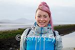 Susie Whyte enjoying a walk in Lohercanon on Friday.