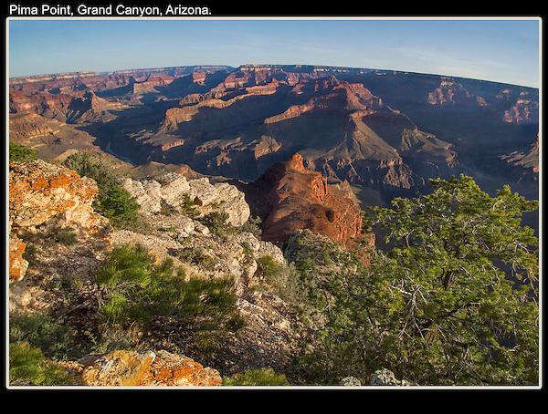 "A ""typical"" sunrise at Pima Point, Grand Canyon National Park, Arizona. .  John offers private photo tours in Grand Canyon National Park and throughout Arizona, Utah and Colorado. Year-round."