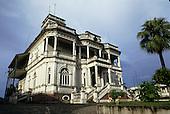 Manaus, Amazonas State, Brazil. Governor's palace - Palacio Rio Negro - in grand neoclassical colonial style.