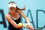 Sorana Cirstea, Roumania, during Madrid Open Tennis 2016 match.May, 5, 2016.(ALTERPHOTOS/Acero)