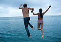 Nica and Mikey on Oahu in Hawaii