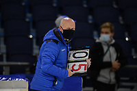 SCHAATSEN: HEERENVEEN: 10-10-2020, KNSB Trainingswedstrijd, Henk Hospes, ©foto Martin de Jong