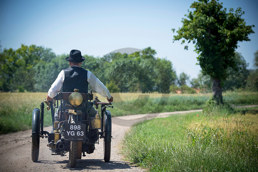28/06/19 - CHAPPES - PUY DE DOME - FRANCE - Essais Tricycle Leon BOLLEE de 1898 appartenant au Patrimoine MICHELIN - Photo Jerome CHABANNE