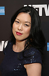 "Jeena Yi attends the Broadway Opening Night After Party  for ""Network"" at Jack's Studios on December 6, 2018 in New York City."