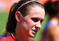 WASHINGTON D.C. - September 02, 2013:<br /> Heather O'Reilly During a USA WNT open practice at RFK Stadium, in Washington D.C. the day before the USA v Mexico international friendly match.