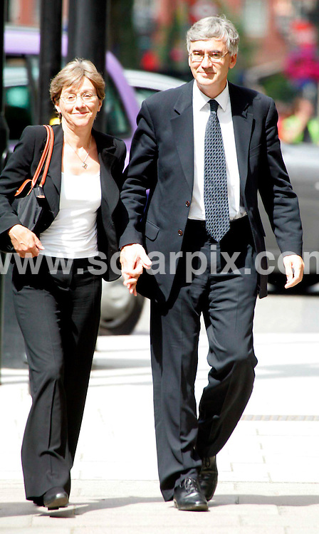 **ALL ROUND PICTURES FROM SOLARPIX.COM**.**NO UK NEWSPAPER PUBLICATION **UK MAGAZINE PUBLICATION ONLY** AND NO PUBLICATION IN FRANCE, SCANDINAVIA, AUSTRALIA AND GERMANY** .Judge Sir Stephen Richards is pictured leaving Westminster Magistrates today with his wife Lucy after being cleared of .exposing himself twice to a woman on packed commuter trains..Richards , one of Britain's most senior judges,  was accused of flashing at the same woman on trains in the area on 16 and 24 October 2006..JOB REF:4070-SFE       DATE:13_06_07 .**MUST CREDIT SOLARPIX.COM OR DOUBLE FEE WILL BE CHARGED* *UNDER NO CIRCUMSTANCES IS THIS IMAGE TO BE REPRODUCED FOR ANY ONLINE EDITION WITHOUT PRIOR PERMISSION*