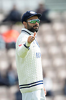 Thumbs up from Virat Kohli, India during India vs New Zealand, ICC World Test Championship Final Cricket at The Hampshire Bowl on 22nd June 2021