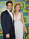 Jon Hamm and Jennifer Westfeldt attends The HBO's Post Golden Globes Party held at The Beverly Hilton Hotel in Beverly Hills, California on January 16,2011                                                                               © 2010 DVS / Hollywood Press Agency