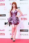 Carly Rae Jepsen, Jun 22, 2013 : MTV VMAJ (VIDEO MUSIC AWARDS JAPAN) 2013 at Makuhari Messe in Chiba, Japan. (Photo by AFLO)