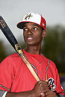 Harrisburg Senators outfielder Michael A. Taylor (3) poses for a photo before a game against the New Britain Rock Cats on April 28, 2014 at Metro Bank Park in Harrisburg, Pennsylvania.  Harrisburg defeated New Britain 9-0.  (Mike Janes/Four Seam Images)