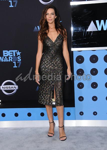 25 June 2017 - Los Angeles, California - Terri Seymour. 2017 BET Awards held at the Microsoft Square in Los Angeles. Photo Credit: Birdie Thompson/AdMedia