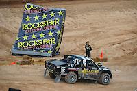 Mar. 20, 2011; Chandler, AZ, USA;  LOORRS pro two driver Rob MacCachren during round two at Firebird International Raceway. Mandatory Credit: Mark J. Rebilas-