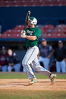 Farmingdale Rams first baseman Dalton McCarthy (51) at bat during a game against the Union Dutchmen on February 21, 2016 at Chain of Lakes Stadium in Winter Haven, Florida.  Farmingdale defeated Union 17-5.  (Mike Janes/Four Seam Images)