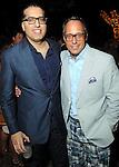 Raja Ratan and Mark Sullivan at the Hotel Zaza's annual Spring Party Wednesday April 24, 2013.(Dave Rossman photo)