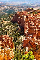 """Red Canyon. Artist signed, limited edition fine art print from the American Splendor series.  Photographed in the American National Parks. Custom edited by the artist, and printed on professional artist canvas. Framed in a custom black wood floater frame.  Size 24x36"""" plus frame.<br /> Price $500<br /> Other proportionate sizes may be available on custom order."""