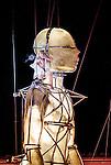 "Graeae Theatre Company and La Fura dels Bau. ""Prometheus Awakes"". The Greenwich and Docklands International Festival 2012."