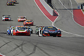 Pirelli World Challenge<br /> Grand Prix of Texas<br /> Circuit of The Americas, Austin, TX USA<br /> Saturday 2 September 2017<br /> Peter Kox/ Mark Wilkins<br /> World Copyright: Richard Dole/LAT Images<br /> ref: Digital Image RD_COTA_PWC_17236