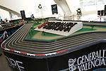 F1 VALENCIA STREET CIRCUIT Scale Model