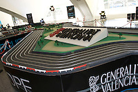 VALENCIA F1 STREET CIRCUIT SCALE MODEL F1 Europe Grand Prix - Slot Machine - At the Arts and Sciences City of Valencia