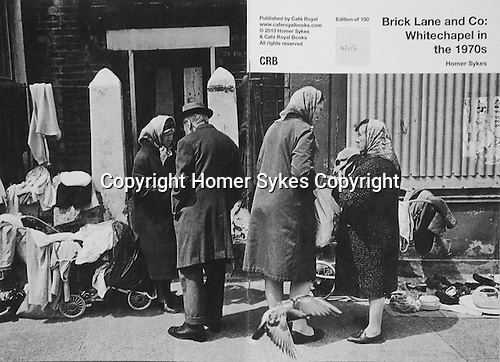 Brick Lane and Co: Whitechapel in the 1970s. <br /> PhotoZine published by Cafe Royal Books. Edition of 150. All book shop copies sold out, I have 1 LEFT.  Published in 2013. 28 pages, staple bound, A5. <br /> <br /> £40-00 including p&p in UK.