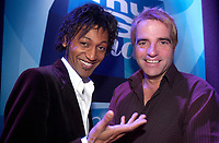 MUsimax television host<br /> Angelo Cadet,<br /> Mike Gauthier,<br /> <br /> <br /> photo : (c)  Images Distribution