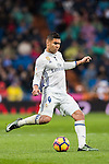 Carlos Henrique Casemiro of Real Madrid in action during their La Liga match between Real Madrid and Real Sociedad at the Santiago Bernabeu Stadium on 29 January 2017 in Madrid, Spain. Photo by Diego Gonzalez Souto / Power Sport Images