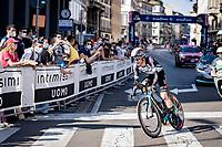 Simon Yates (GBR/Bike Exchange)<br /> <br /> 104th Giro d'Italia 2021 (2.UWT)<br /> Stage 21 (final ITT) from Senago to Milan (30.3km)<br /> <br /> ©kramon