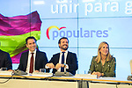(L to R) Antonio Gonzalez Terol, Teodoro Garcia Egea, Pablo Casado, Ana Beltran and Isabel Garcia Tejerina during the General Council of Partido Popular. July 29, 2019. (ALTERPHOTOS/Francis González)