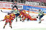 Eishockey DEL 37. Spieltag: Düsseldorfer EG vs <br /> ERC Ingolstadt am 07.04.2021 im ISS Dome in Düsseldorf<br /> <br /> Tor zum 0:1 durch Ingolstadts Petrus Palmu (Nr.52)<br /> <br /> Foto © PIX-Sportfotos *** Foto ist honorarpflichtig! *** Auf Anfrage in hoeherer Qualitaet/Aufloesung. Belegexemplar erbeten. Veroeffentlichung ausschliesslich fuer journalistisch-publizistische Zwecke. For editorial use only.