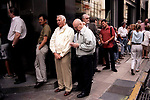 Economic Turmoil in Argentina<br /> A queue at the bank. It is not uncommon to have to wait for several hours to carry out any type of banking transaction. 2000s 2002