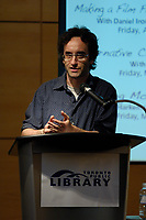 Toronto (ON) Canada, May 11, 2007<br /> <br /> Don McKellar at<br /> Literary Language of Film - Toronto's Fabulous Filmmakers hosted by Geoff Pevere. May 11, 2007, A behind-the-scenes scoop on making Monkey Warfare, a film about history, objects, love and revolution. This cautionary tale won a Special Jury Award at the 2006 Toronto International Film Festival. With Director Reginald Harkema, Actor Tracy Wright, Actor Nadia Litz and Actor Don McKellar.