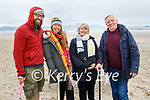 Enjoying a stroll in Banna on Sunday, l to r: Peter Dobes, Sandra, Nora and Richard Martin.