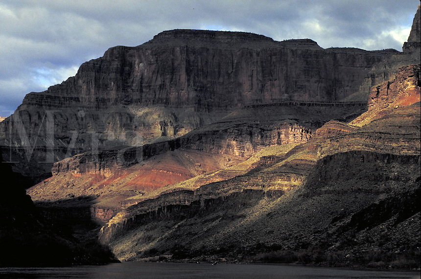 Kayaking on Colorado River. Arizona USA Grand Canyon National Park.