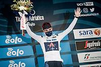white jersey leader Pavel Sivakov (RUS/INEOS Grenadiers)<br /> <br /> Stage 2 from Camaiore to Chiusdino (202km)<br /> <br /> 56th Tirreno-Adriatico 2021 (2.UWT) <br /> <br /> ©kramon