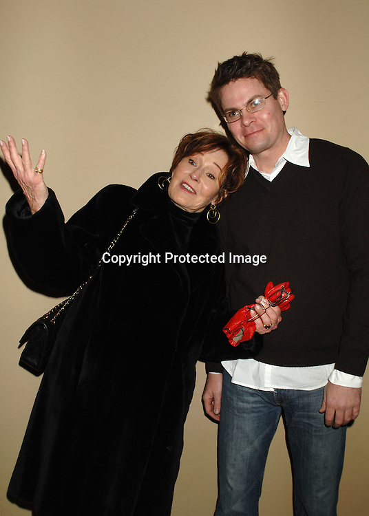"""Marj Dusay and Trent Dawson..at The P & G Christmas Party with cast memebers from """"As The World Turns"""" and """"Guiding Light"""" ..on December 6, 2006 at Providence in New York. ..Robin Platzer, Twin Images"""