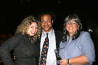 Melody Storm with Clinton H.Wallace and Marta Kauffman<br />at the 2008 Bel Air Film Festival Closing Night Screening Of 'Blessed Is The Match' Honoring Producer Marta Kauffman. American Jewish University, Bel Air, CA. 11-19-08<br />Dave Edwards/DailyCeleb.com 818-249-4998