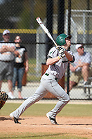 Slippery Rock Brandon Myers #9 during a game vs. the Seton Hill Griffins at Lake Myrtle Field in Auburndale, Florida;  March 5, 2011.  Seton Hill defeated Slippery Rock 14-1.  Photo By Mike Janes/Four Seam Images